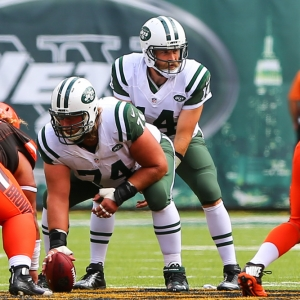 New York Jets quarterback Ryan Fitzpatrick