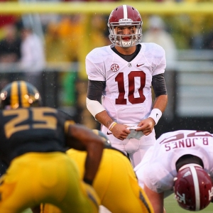 Alabama Crimson Tide quarterback AJ McCarron
