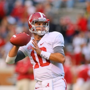 AJ McCarron of the Alabama Crimson Tide