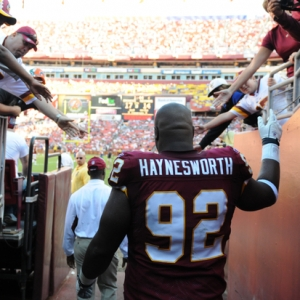 Albert Haynesworth of the Washington Redskins