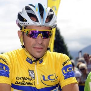 Cyclist Alberto Contador