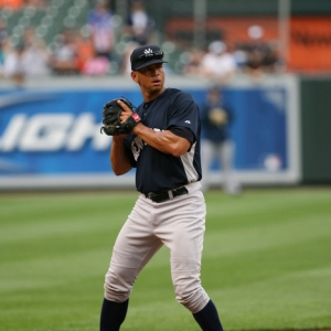 Alex Rodriguez of the New York Yankees.