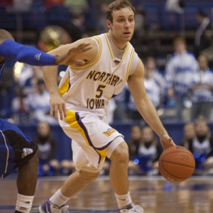 Northern Iowa guard Ali Farokhmanesh