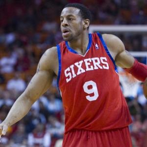 Philadelphia 76ers guard Andre Iguodala