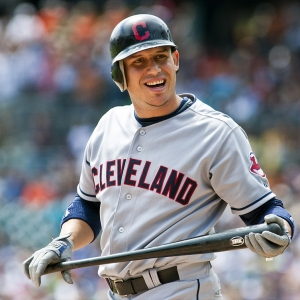 Cleveland Indians shortstop Asdrubal Cabrera