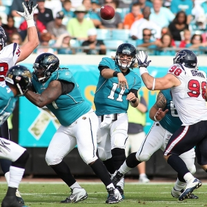 Jacksonville Jaguars quarterback Blaine Gabbert