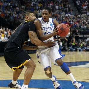 Brandon Knight of the Kentucky Wildcats