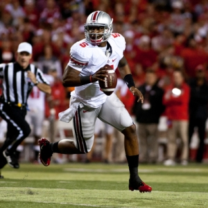 Quarterback Braxton Miller of the Ohio State Buckeyes