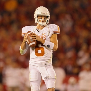 Texas Longhorns quarterback Case McCoy