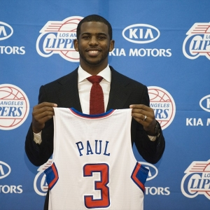 Clippers point guard Chris Paul