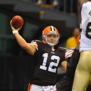 Cleveland Browns quarterback Colt McCoy