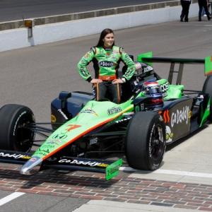 IRL driver Danica Patrick