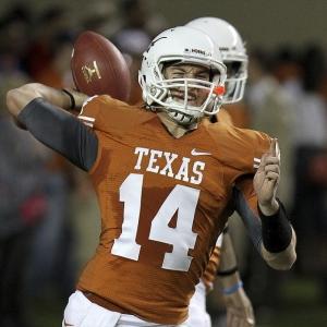 University of Texas Longhorns quarterback David Ash
