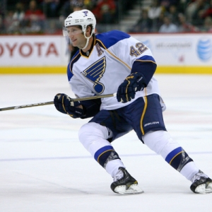 St. Louis Blues forward David Backes