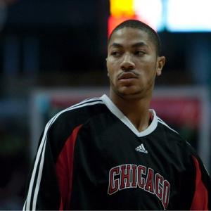 Derrick Rose of the Chicago Bulls.