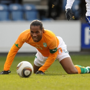 Didier Drogba of the Ivory Coast