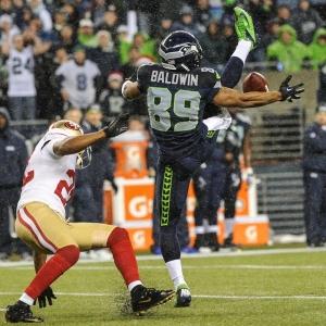 Seattle Seahawks wide receiver Doug Baldwin