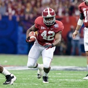 Alabama Crimson Tide running back Eddie Lacy