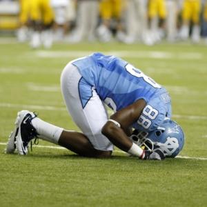 North Carolina wide receiver Erik Highsmith