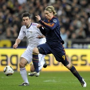 Fernando Torres of Spain.