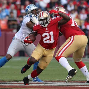 Frank Gore of the San Francisco 49ers