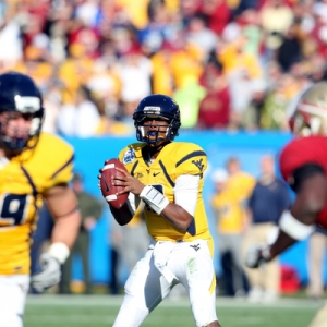 West Virginia quarterback Geno Smith