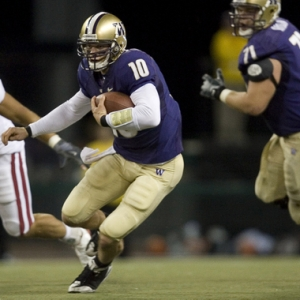University of Washington QB Jake Locker.
