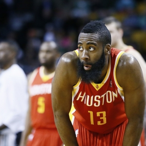 Houston Rockets shooting guard James Harden