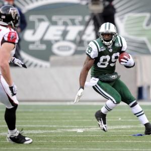 New York Jets wide receiver Jerricho Cotchery.