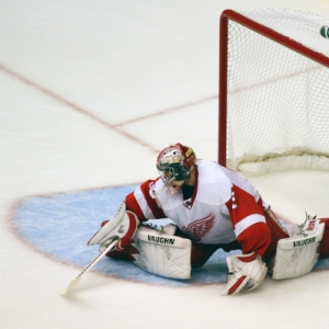 Detroit Red Wings goalie Jimmy Howard