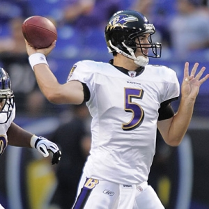 Joe Flacco Baltimore Ravens