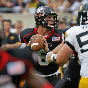 Northern Illinois quarterback Jordan Lynch