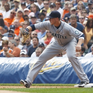 Justin Smoak Seattle Mariners