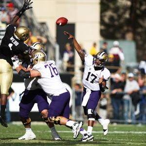 Keith Price  of the Washington Huskies