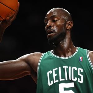 Kevin Garnett of the Boston Celtics.