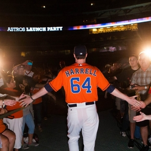 Houston Astros Lucas Harrell