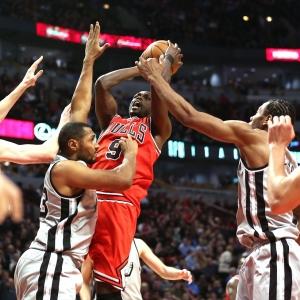 Chicago Bulls small forward Luol Deng
