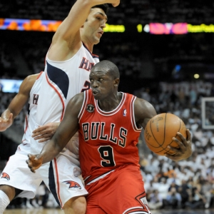 Chicago Bulls forward Luol Deng