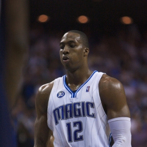 Orlando Magic Center Dwight Howard.