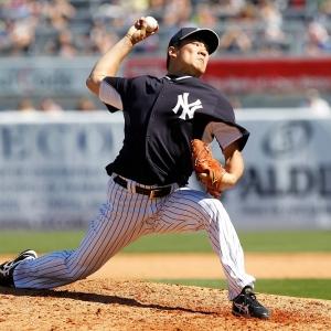 New York Yankees starting pitcher Masahiro Tanaka