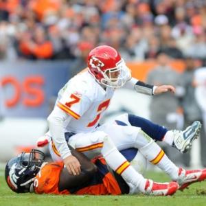 Kansas City Chiefs quarterback Matt Cassel