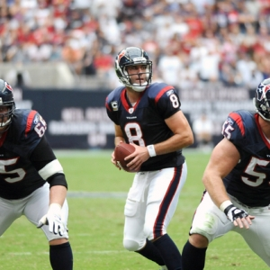 Houston Texans quarterback Matt Schaub