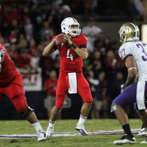 Arizona Wildcats quarterback Matt Scott