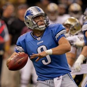 Detroit Lions quarterback Matthew Stafford