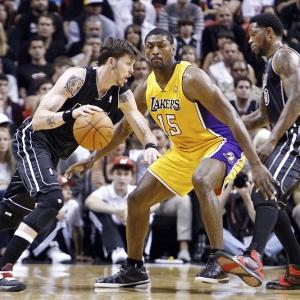 Metta World Peace of the LA Lakers