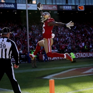 San Francisco 49ers wide receiver Michael Crabtree