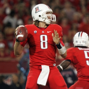 Arizona Wildcats quarterback Nick Foles