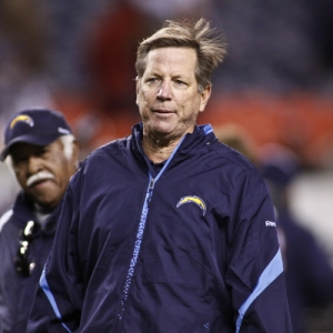 San Diego Chargers head coach Norv Turner.