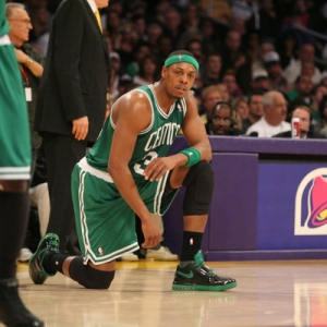 Paul Pierce No. 34 of the Boston Celtics