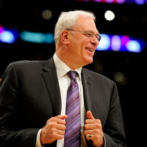 Former Lakers head coach Phil Jackson